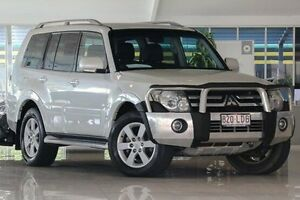 2008 Mitsubishi Pajero NS GLX White 5 Speed Manual Wagon Dandenong Greater Dandenong Preview