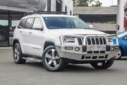 2013 Jeep Grand Cherokee WK MY2013 Limited White 5 Speed Sports Automatic Wagon Carseldine Brisbane North East Preview
