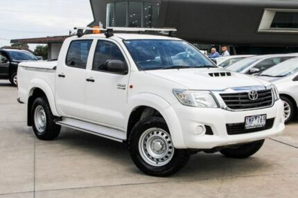 2012 Toyota Hilux White Automatic Utility