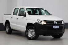 2013 Volkswagen Amarok 2H MY13 TDI420 (4x4) White 8 Speed Automatic Dual Cab Utility Bentley Canning Area Preview