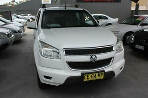 2012 Holden Colorado RG LX (4x2) White 6 Speed Automatic Crewcab Mitchell Gungahlin Area Preview
