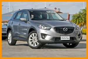 2013 Mazda CX-5 KE1021 Grand Touring SKYACTIV-Drive AWD Silver 6 Speed Sports Automatic Wagon Hillcrest Logan Area Preview