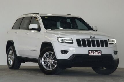2013 Jeep Grand Cherokee WK MY14 Laredo (4x4) White 8 Speed Automatic Wagon