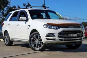 2012 Ford Territory SZ Titanium Seq Sport Shift White 6 Speed Sports Automatic Wagon Kirrawee Sutherland Area Preview