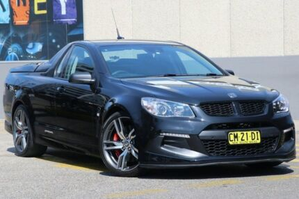2015 Holden Special Vehicles Maloo GEN F2 R8 LSA Black 6 Speed Automatic Utility