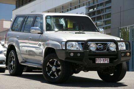 2011 Nissan Patrol GU 7 MY10 ST Silver 4 Speed Automatic Wagon