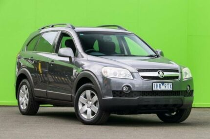2008 Holden Captiva CG MY08 CX AWD Grey 5 Speed Sports Automatic Wagon Ringwood East Maroondah Area Preview