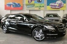 2011 Mercedes-Benz CLS63 C218 AMG Coupe SPEEDSHIFT MCT Black 7 Speed Sports Automatic Sedan Southbank Melbourne City Preview