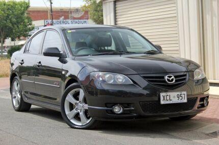 2004 Mazda 3 BK1031 SP23 Black 4 Speed Sports Automatic Sedan Glenelg Holdfast Bay Preview