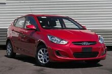 2014 Hyundai Accent RB2 Active Red 4 Speed Sports Automatic Hatchback Berwick Casey Area Preview