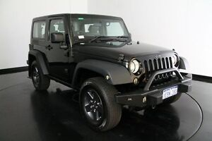 2010 Jeep Wrangler JK MY2010 Rubicon Black 4 Speed Automatic Softtop Welshpool Canning Area Preview