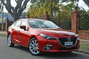 2015 Mazda 3 BM5238 SP25 SKYACTIV-Drive GT Red 6 Speed Sports Automatic Sedan Medindie Walkerville Area Preview