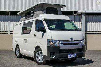 2016 Toyota Hiace TRH201R MY15 LWB White 5 Speed Manual Van Cannington Canning Area Preview