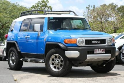 2011 Toyota FJ Cruiser GSJ15R Blue 5 Speed Automatic Wagon Indooroopilly Brisbane South West Preview
