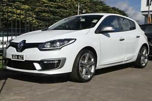 2014 Renault Megane III B95 Phase 2 GT220 White 6 Speed Manual Hatchback Croydon Maroondah Area Preview