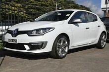 2014 Renault Megane  White Manual Hatchback Croydon Maroondah Area Preview