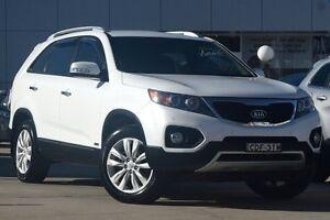 2011 Kia Sorento XM MY11 SLi (4x4) White 6 Speed Automatic Wagon Waitara Hornsby Area Preview