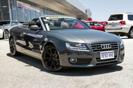 2011 Audi A5 8T MY11 S tronic quattro Grey 7 Speed Sports Automatic Dual Clutch Cabriolet Cannington Canning Area Preview