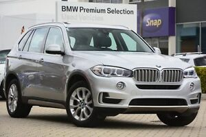 2016 BMW X5 F15 xDrive30d Silver 8 Speed Sports Automatic Wagon Victoria Park Victoria Park Area Preview