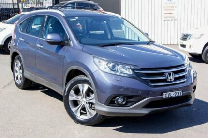 2014 Honda CR-V RM MY15 VTi-L 4WD Blue 5 Speed Sports Automatic Wagon