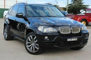 2008 BMW X5 E70 3.0SD Black 6 Speed Steptronic Wagon Belmore Canterbury Area Preview