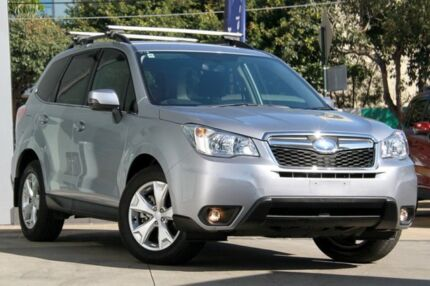 2015 Subaru Forester MY15 2.0D-L Ice Silver 6 Speed Continuous Variable Wagon Rosebery Inner Sydney Preview
