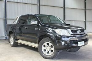 2010 Toyota Hilux KUN26R MY10 SR5 Black 4 Speed Automatic Utility Invermay Launceston Area Preview