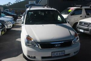 2010 Kia Grand Carnival VQ MY11 SI White 6 Speed Automatic Wagon Mitchell Gungahlin Area Preview