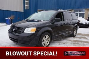 2010 Dodge Grand Caravan DVD STOW AND GO Accident Free,  Rear DV