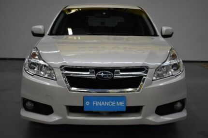2013 Subaru Liberty B5 MY14 2.5i Lineartronic AWD White 6 Speed Constant Variable Wagon