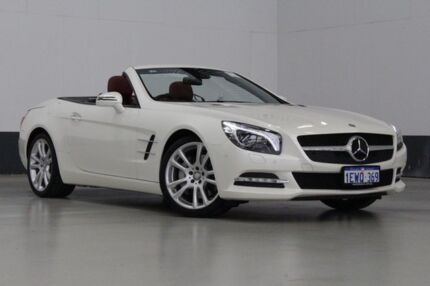 2012 Mercedes-Benz SL R231 350 BE Diamond White 7 Speed Automatic Convertible Bentley Canning Area Preview