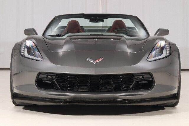 2016 Gray Chevrolet Corvette Z06 3LZ   C7 Corvette Photo 8