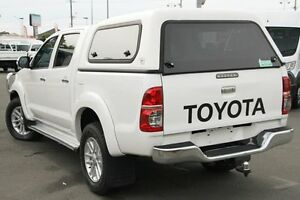 2012 Toyota Hilux KUN26R MY12 SR5 Double Cab Glacier White 4 Speed Automatic Utility Acacia Ridge Brisbane South West Preview