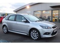 FORD FOCUS 1.6 ZETEC S S/S 5d 113 BHP - 360 SPIN ON WEBSITE (silver) 2009