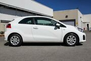 2016 Kia Rio S UB MY16 White Manual Hatchback Cannington Canning Area Preview