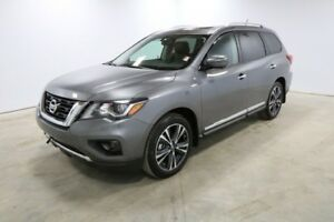 2018 Nissan Pathfinder 4X4 PLATINUM V6 BLUETOOTH, DVD PLAYER, HE