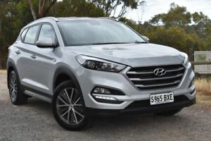 2017 Hyundai Tucson TL MY17 Active X 2WD Silver 6 Speed Manual Wagon St Marys Mitcham Area Preview