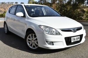 2008 Hyundai i30 FD SLX White 4 Speed Automatic Hatchback St Marys Mitcham Area Preview
