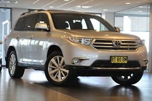 2012 Toyota Kluger GSU45R MY12 Altitude AWD Silver 5 Speed Sports Automatic Wagon Artarmon Willoughby Area Preview