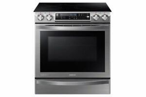 Cuisinière Samsung Induction Slide-In Stainless