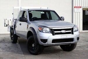2010 Ford Ranger PK XL Super Cab Hi-Rider Silver 5 Speed Manual Cab Chassis Seaford Frankston Area Preview