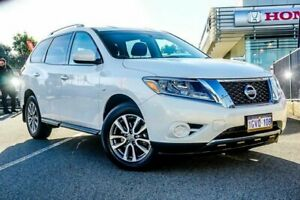 2014 Nissan Pathfinder R52 ST (4x2) White Continuous Variable Wagon Wangara Wanneroo Area Preview
