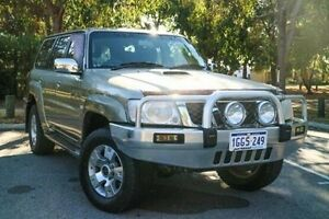 2007 Nissan Patrol GU IV MY06 ST Gold 5 Speed Manual Wagon Wilson Canning Area Preview