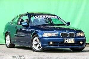 2002 BMW 320CI E46 MY2002 Steptronic Blue 5 Speed Sports Automatic Coupe Ringwood East Maroondah Area Preview