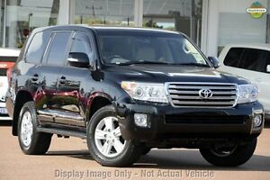 2013 Toyota Landcruiser URJ202R MY13 Sahara Black 6 Speed Sports Automatic Wagon Upper Ferntree Gully Knox Area Preview