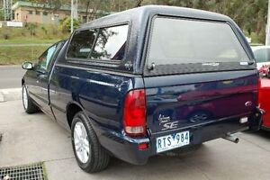2002 Ford Falcon Auiii XL Blue 5 Speed Manual Utility Upper Ferntree Gully Knox Area Preview