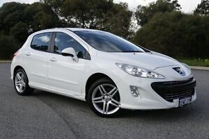 2011 Peugeot 308 T7 MY12 Access White 4 Speed Sports Automatic Hatchback Hillman Rockingham Area Preview