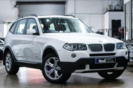 2009 BMW X3 E83 MY0909 xDrive20d Steptronic Lifestyle White 6 Speed Automatic Wagon Port Melbourne Port Phillip Preview