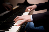 Wedding pianist at your service!