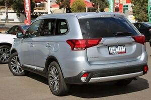 2015 Mitsubishi Outlander Silver Constant Variable Wagon Nunawading Whitehorse Area Preview